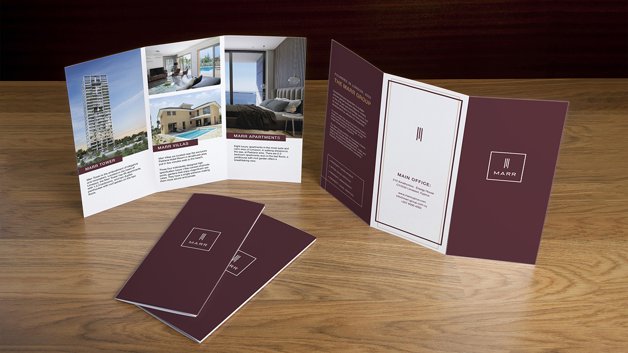 Branding Box: Corporate Identity Marr Cyprus