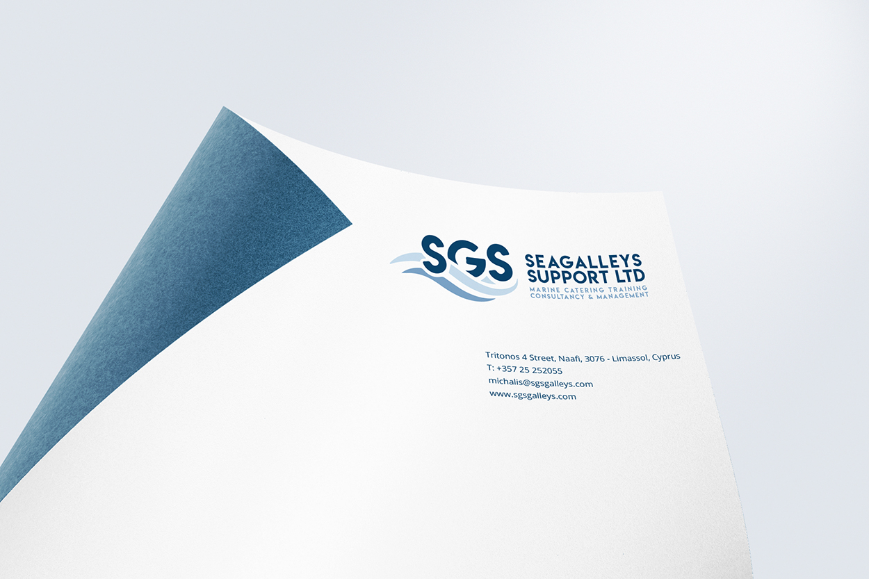 Branding Box: Corporate Identity SGS Galleys