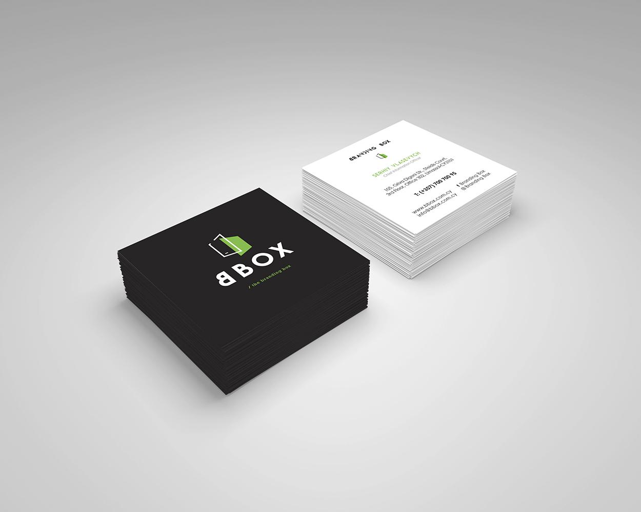 Branding Box: Corporate Identity Branding Box