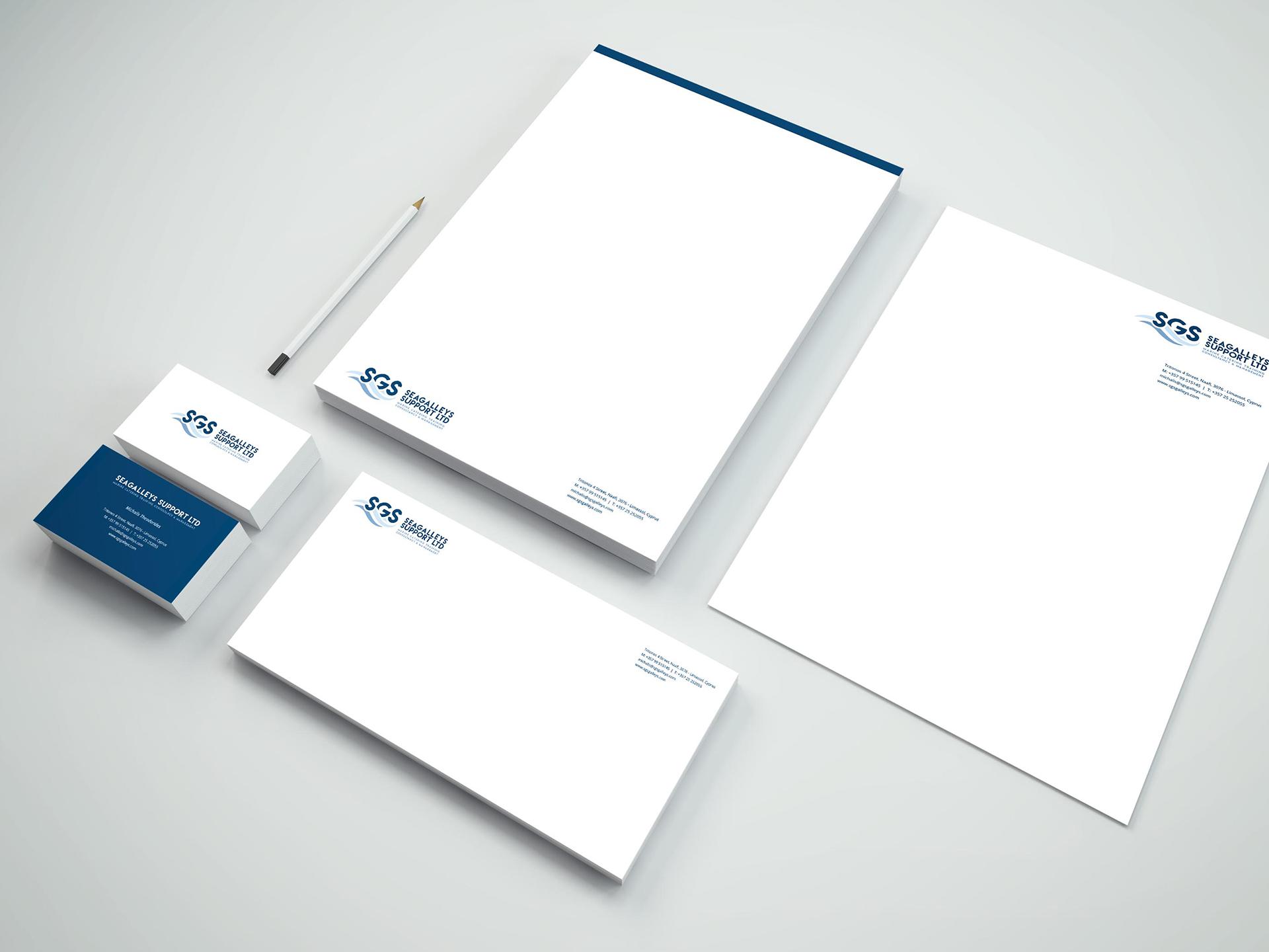 Branding Box: Corporate Identity SGS Galleys